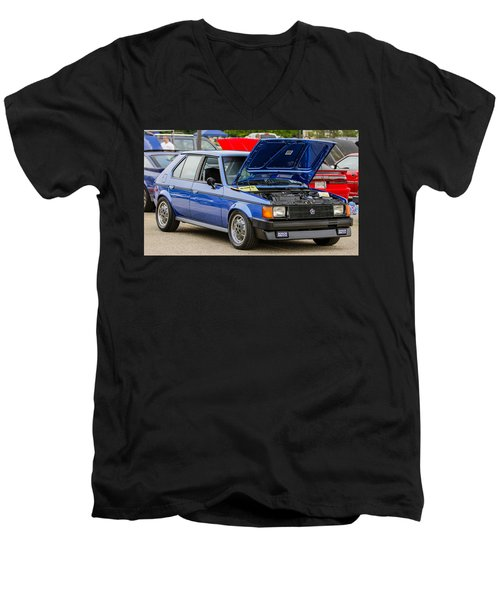 Car Show 078 Men's V-Neck T-Shirt