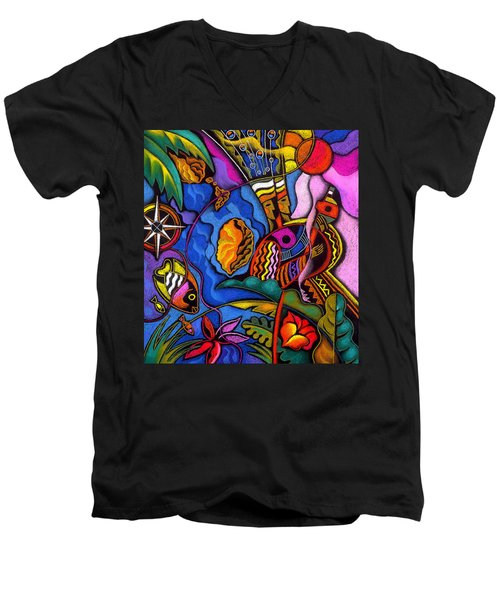 Caribbean Men's V-Neck T-Shirt