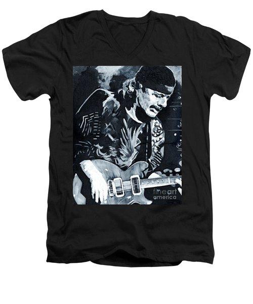 Carlos Santana - Black Magic Woman Men's V-Neck T-Shirt