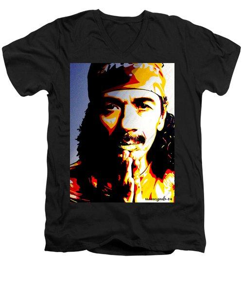 Carlos Santana. Men's V-Neck T-Shirt