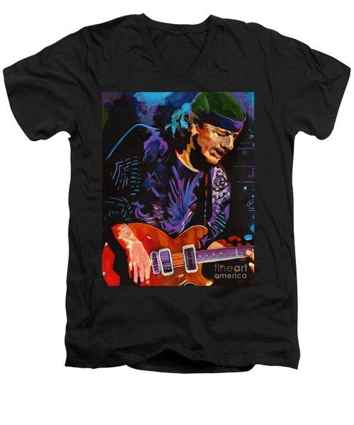Supernatural.carlos Santana Men's V-Neck T-Shirt