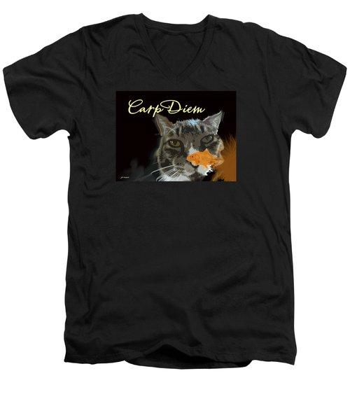 Carp Diem Men's V-Neck T-Shirt