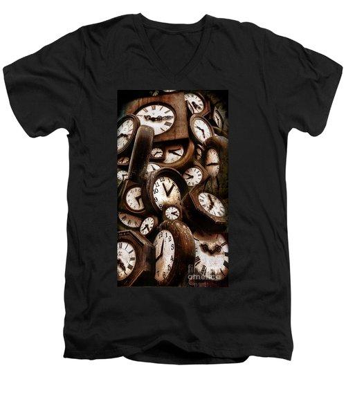 Carpe Diem - Time For Everyone Men's V-Neck T-Shirt
