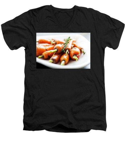 Carrots Men's V-Neck T-Shirt