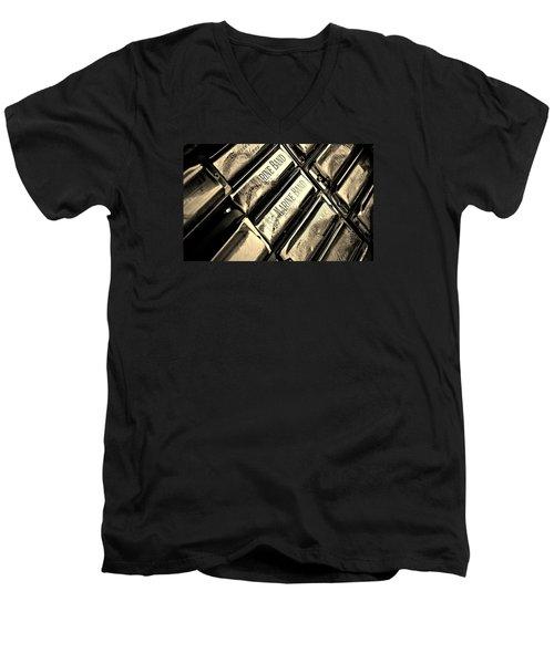 Case Of Harmonicas  Men's V-Neck T-Shirt