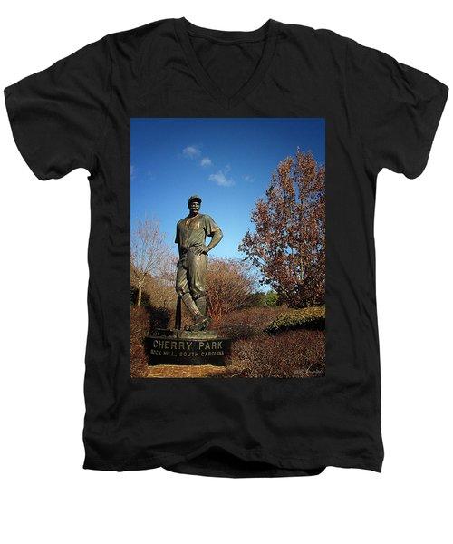 Casey Waits For Spring Men's V-Neck T-Shirt