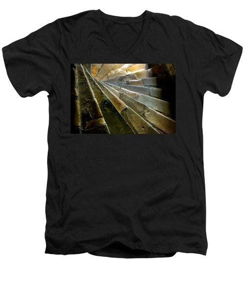Castle Steps Men's V-Neck T-Shirt