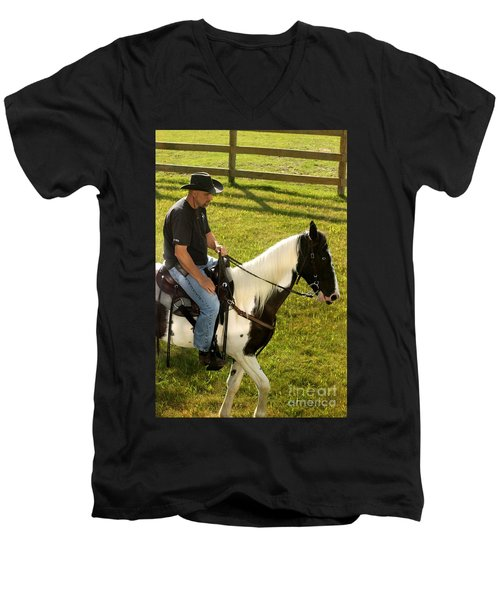 Casual Ride Men's V-Neck T-Shirt