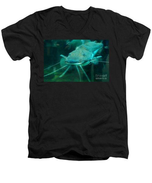 Catfish Billy Men's V-Neck T-Shirt