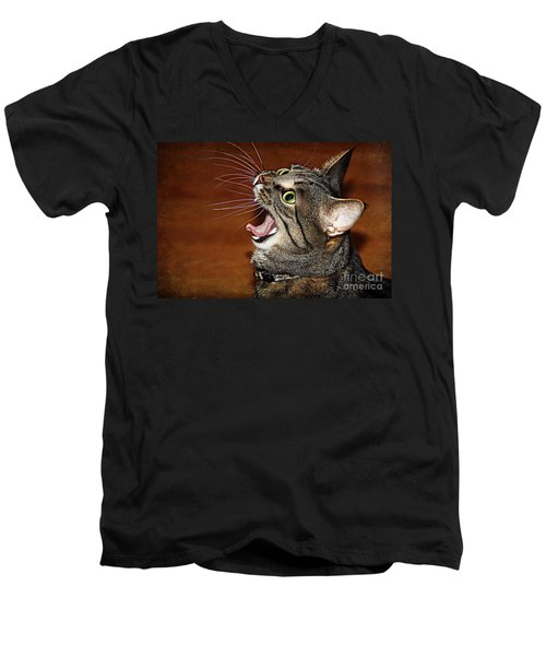 Caught In The Act Men's V-Neck T-Shirt