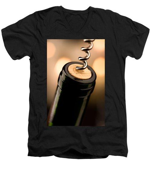 Celebration Time Men's V-Neck T-Shirt by Johan Swanepoel