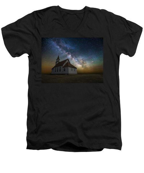 Celestial Men's V-Neck T-Shirt