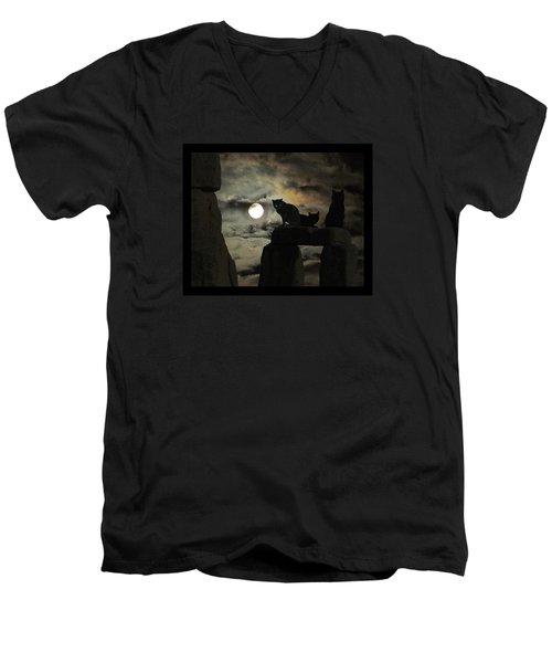Celtic Nights Men's V-Neck T-Shirt