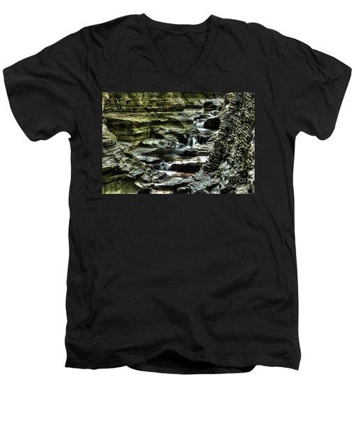 Central Cascade Watkins Glen Men's V-Neck T-Shirt