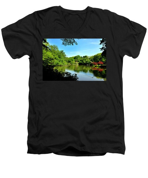 Central Park No. 2 Men's V-Neck T-Shirt