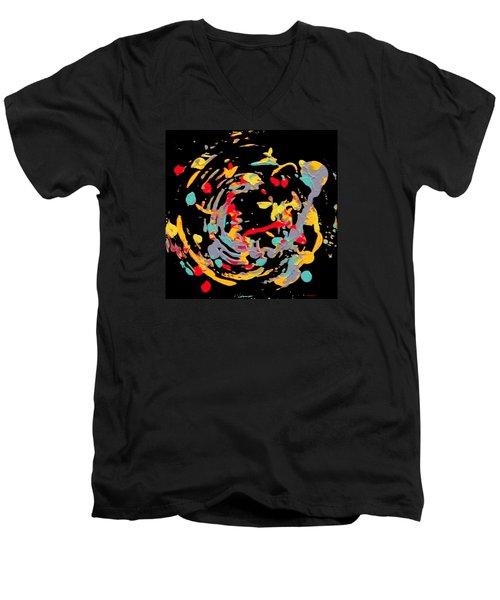 Centre Ring Men's V-Neck T-Shirt