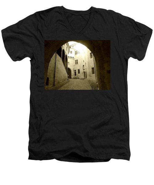 Chambery France Gate Men's V-Neck T-Shirt