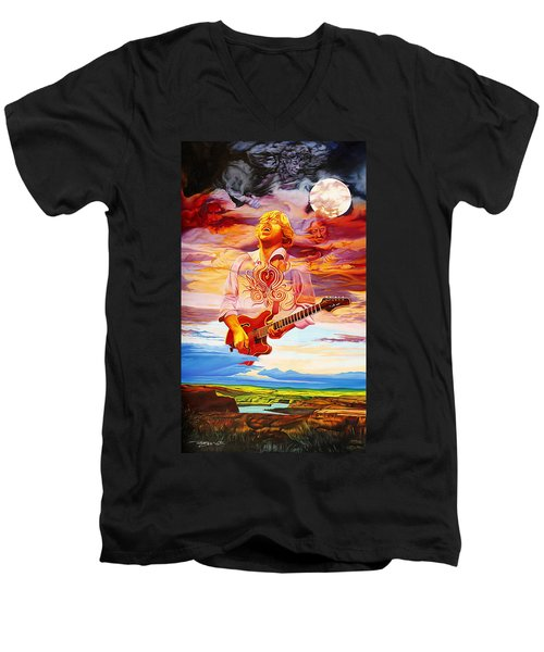 Channeling The Cosmic Goo At The Gorge Men's V-Neck T-Shirt