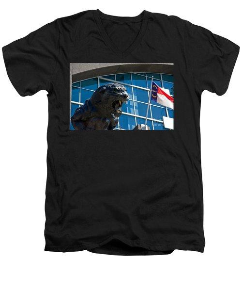 Carolina Panthers Men's V-Neck T-Shirt
