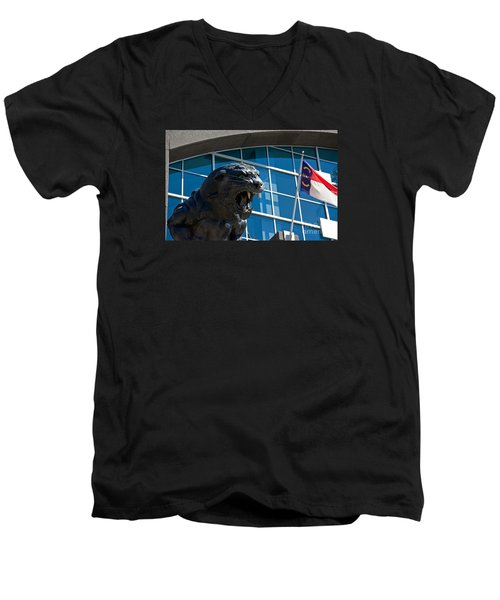 Carolina Panthers Men's V-Neck T-Shirt