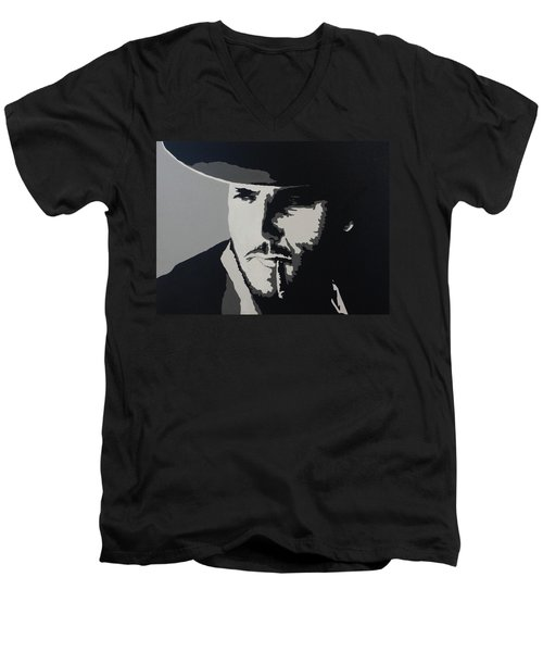 Men's V-Neck T-Shirt featuring the photograph Charro by Natalie Ortiz