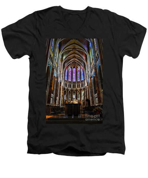 Chartres Men's V-Neck T-Shirt