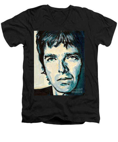 Noel Gallagher Men's V-Neck T-Shirt