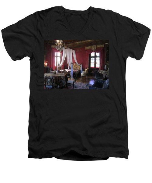 Chateau De Cormatin Men's V-Neck T-Shirt