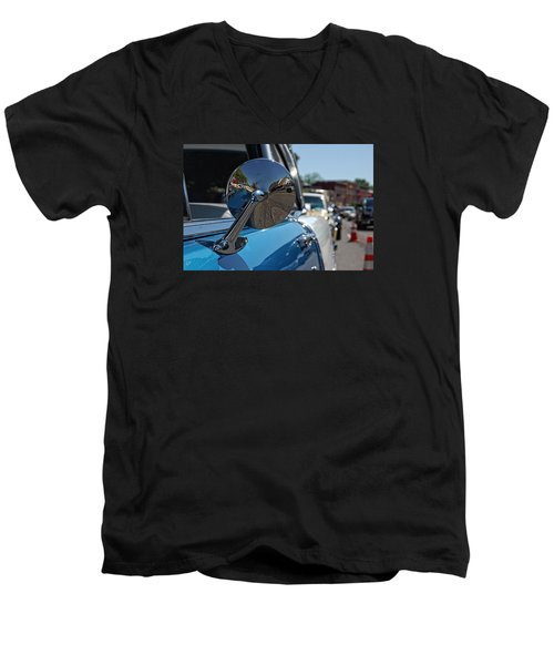 Chevy Mirror Men's V-Neck T-Shirt