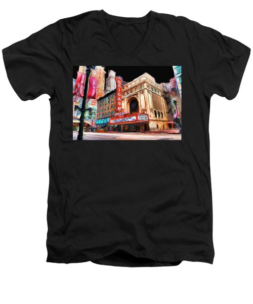 Chicago Theater - 23 Men's V-Neck T-Shirt