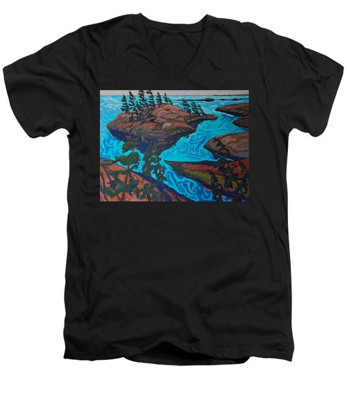 Chickanishing Creek Men's V-Neck T-Shirt