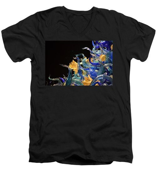 Chihuly-4 Men's V-Neck T-Shirt