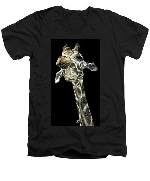 Chin Up Men's V-Neck T-Shirt