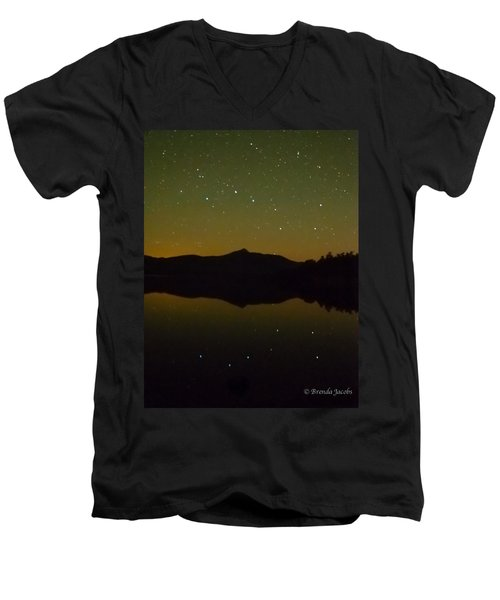Chocorua Stars Men's V-Neck T-Shirt