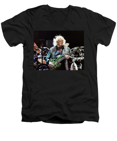 Chris Squire From Yes Men's V-Neck T-Shirt