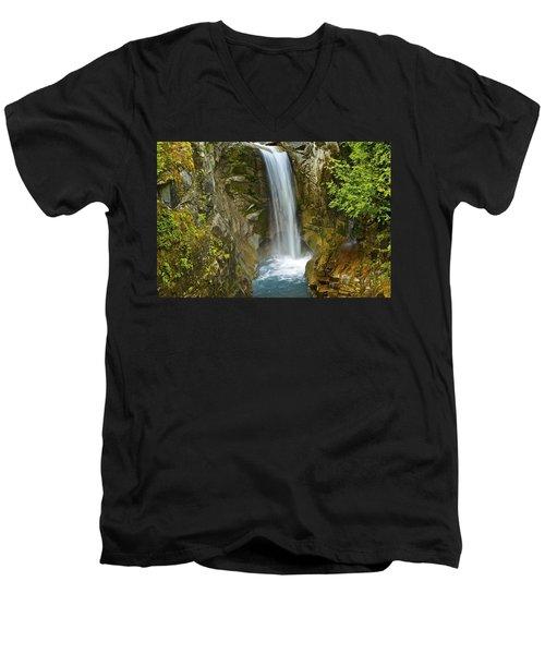 Christine Falls Men's V-Neck T-Shirt