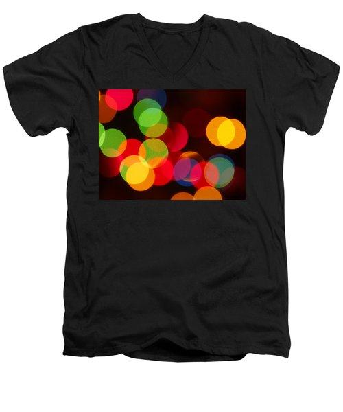 Unfocused Men's V-Neck T-Shirt