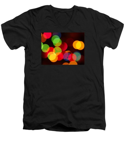Unfocused Men's V-Neck T-Shirt