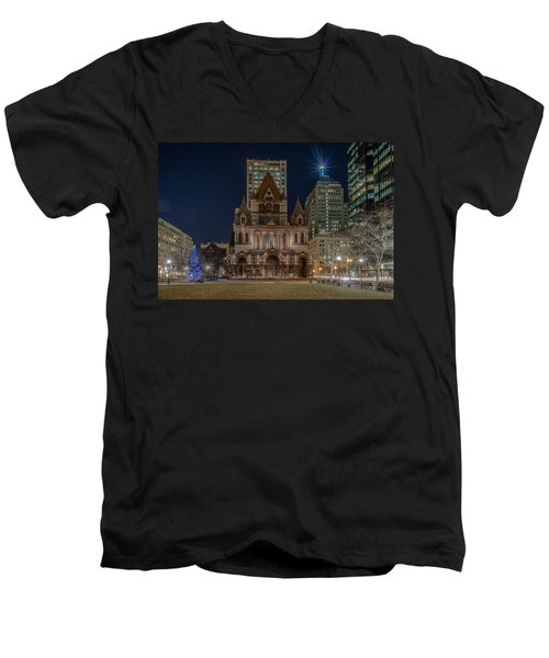 Christmas In Copley  Men's V-Neck T-Shirt