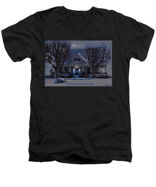 Christmas Memories2 Men's V-Neck T-Shirt