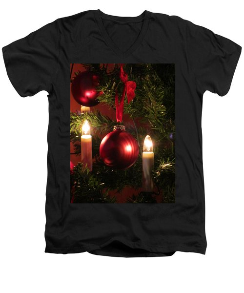 Christmas Spirit Men's V-Neck T-Shirt