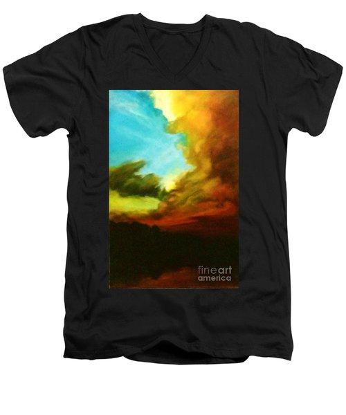 Chuluota Sunset 2 Men's V-Neck T-Shirt