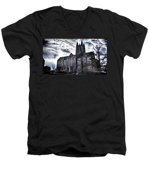Church At Boston College Men's V-Neck T-Shirt