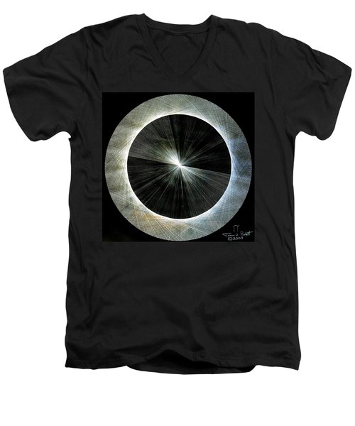 Circles Do Not Exist 720 The Shape Of Pi Men's V-Neck T-Shirt