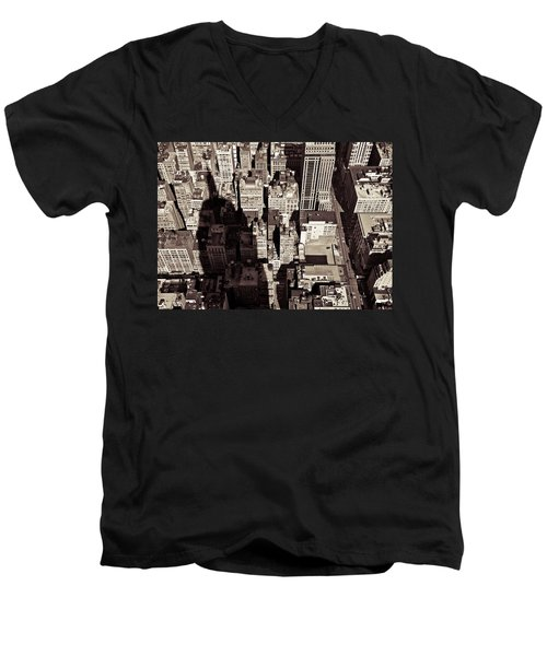 City Shadow Men's V-Neck T-Shirt