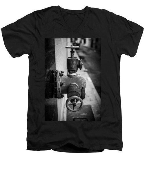 City Valves Men's V-Neck T-Shirt