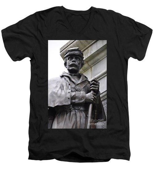 Civil War Memorial Men's V-Neck T-Shirt
