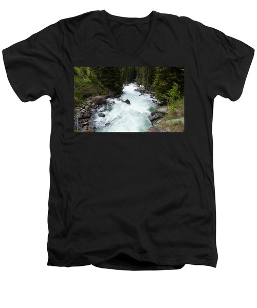 Clark's Fork River Men's V-Neck T-Shirt