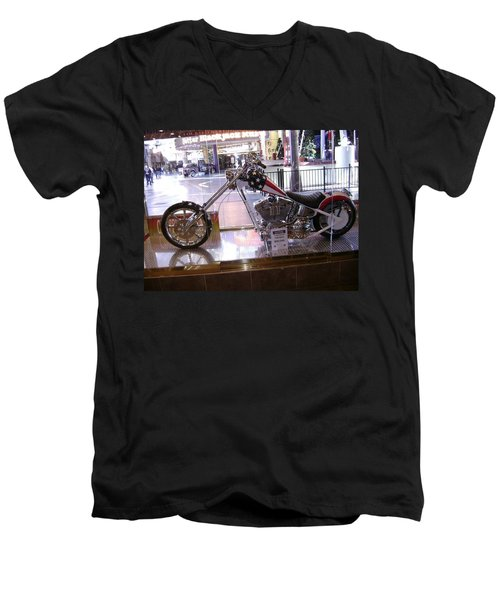 Classic Motorcycle Men's V-Neck T-Shirt