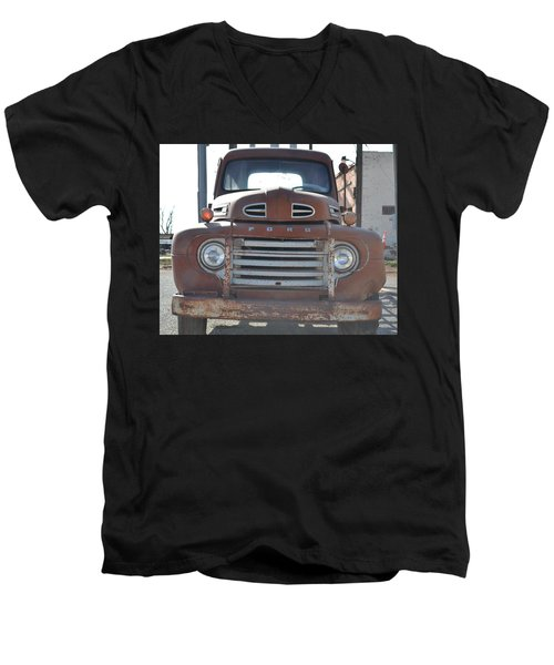 Classic Truck  Men's V-Neck T-Shirt